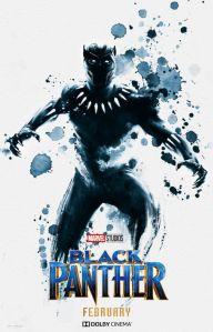Black Panther watercolour